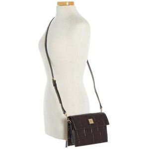 Dooney and Bourke croco-embossed leather crossbody